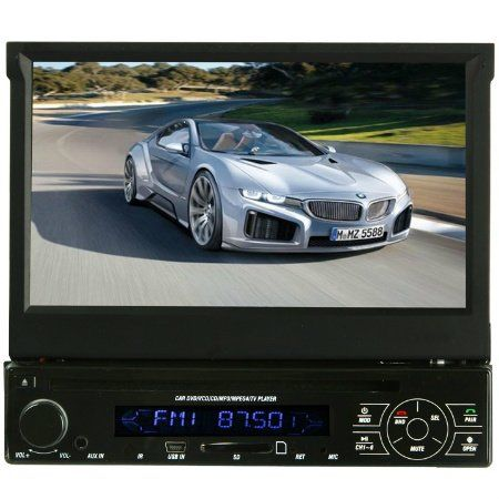 Image of Absolute AVH-4100BT 7-Inch In-Dash Touch Screen DVD Multimedia Player with Built-in Bluetooth and Analog TV Tuner SD Card Slot/USB