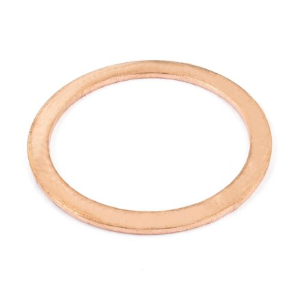 Unique Bargains 40mmx50mmx1mm Copper Flat Washer Ring Gasket Seal Fitting Fasteners for Industy