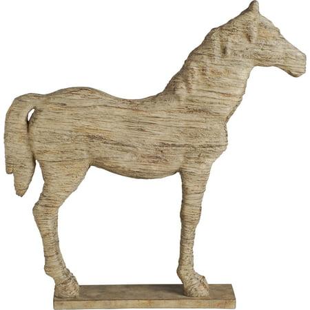 A&B Home Polyresin Horse -