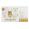 Babyganics Ultra Absorbent Diapers, Size 2, 90 Diapers