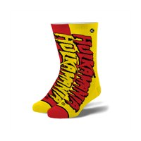 WWE Hulk Hogan Hulkamania Knit Socks, One Size (6-13)