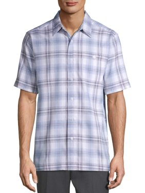 George Men's and Big Men's Short Sleeve Microfiber Shirt