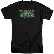 Infinite Crisis Ic Green Mens Big and Tall Shirt