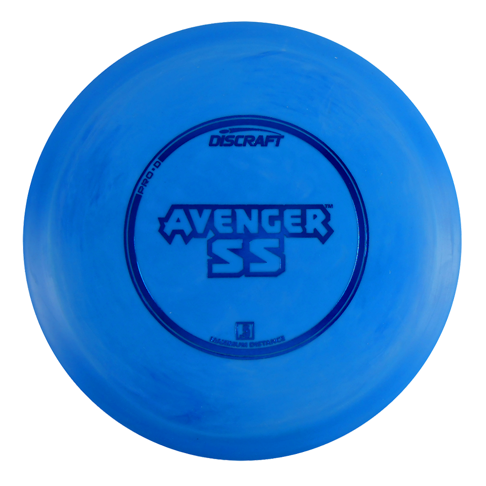 Discraft Pro D Avenger SS 173-174g Distance Driver Golf Disc [Colors may vary] - 173-174g