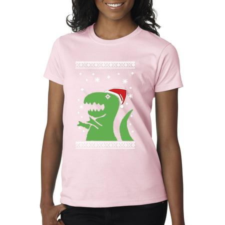 New Way - New Way 601 - Women s T-Shirt T-Rex Dinosaur Ugly ... 279449581d