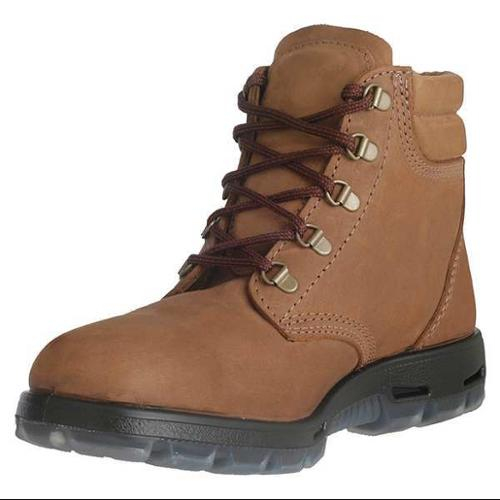 Redback Boots Size 9-1/2 Steel Toe Work Boots, Unisex, Light Brown, EE, USACH