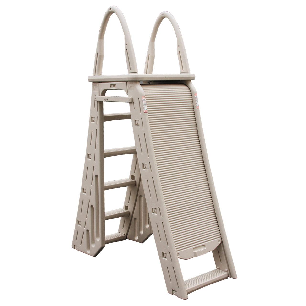 Confer Plastics ROLL-GUARD A-Frame Safety Ladder