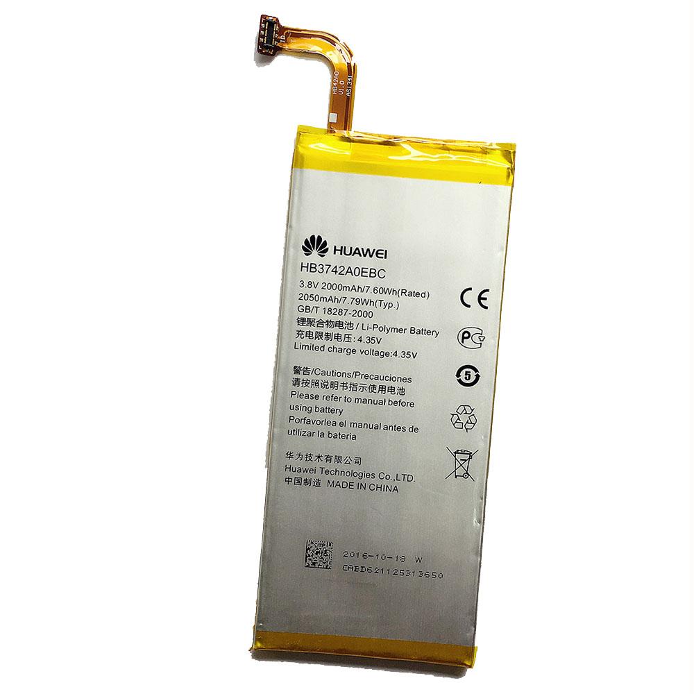 Original Huawei HB3742A0EBC 2050mAh Battery for Huawei Ascend P6 in Non-Retail Packaging