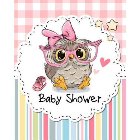 Baby Shower Notebook with Lined Pages for Guest Book/Sign in Book/Planning Book or Gift Recorder : Perfect as Baby Shower Journal/Planner or Game Book - Baby Showe Games