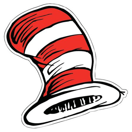 Eureka Classroom Dr Seuss The Cats Hat Bulletin Board Cut Out](Life Sized Cut Outs)