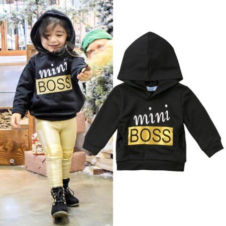 Toddler Hooded Newborn Baby Boys Girl Top Pullover Costume Hoodie Blouse Outfits