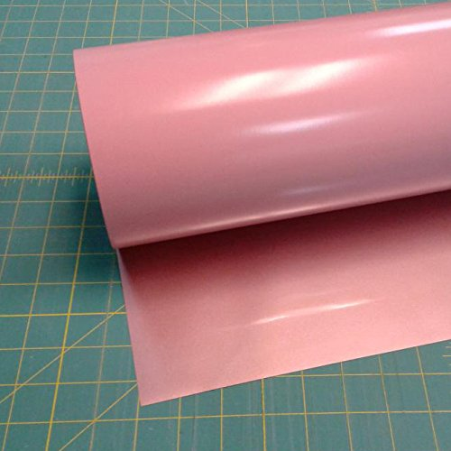 "Rose Gold Siser Easyweed Stretch 15"" x 5' (feet) Iron on Heat Transfer Vinyl Roll HTV"
