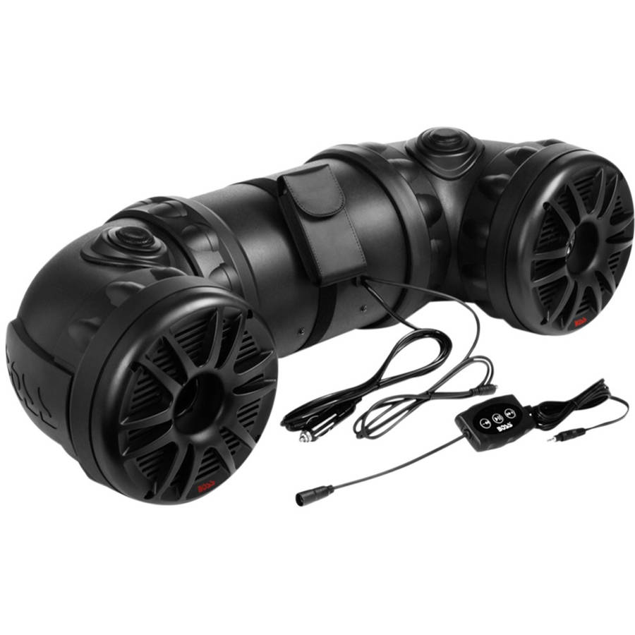 Boss Audio ATV85B - Powersports Plug & Play Bluetooth Sound System with 700 Watt Built-in Amplifier