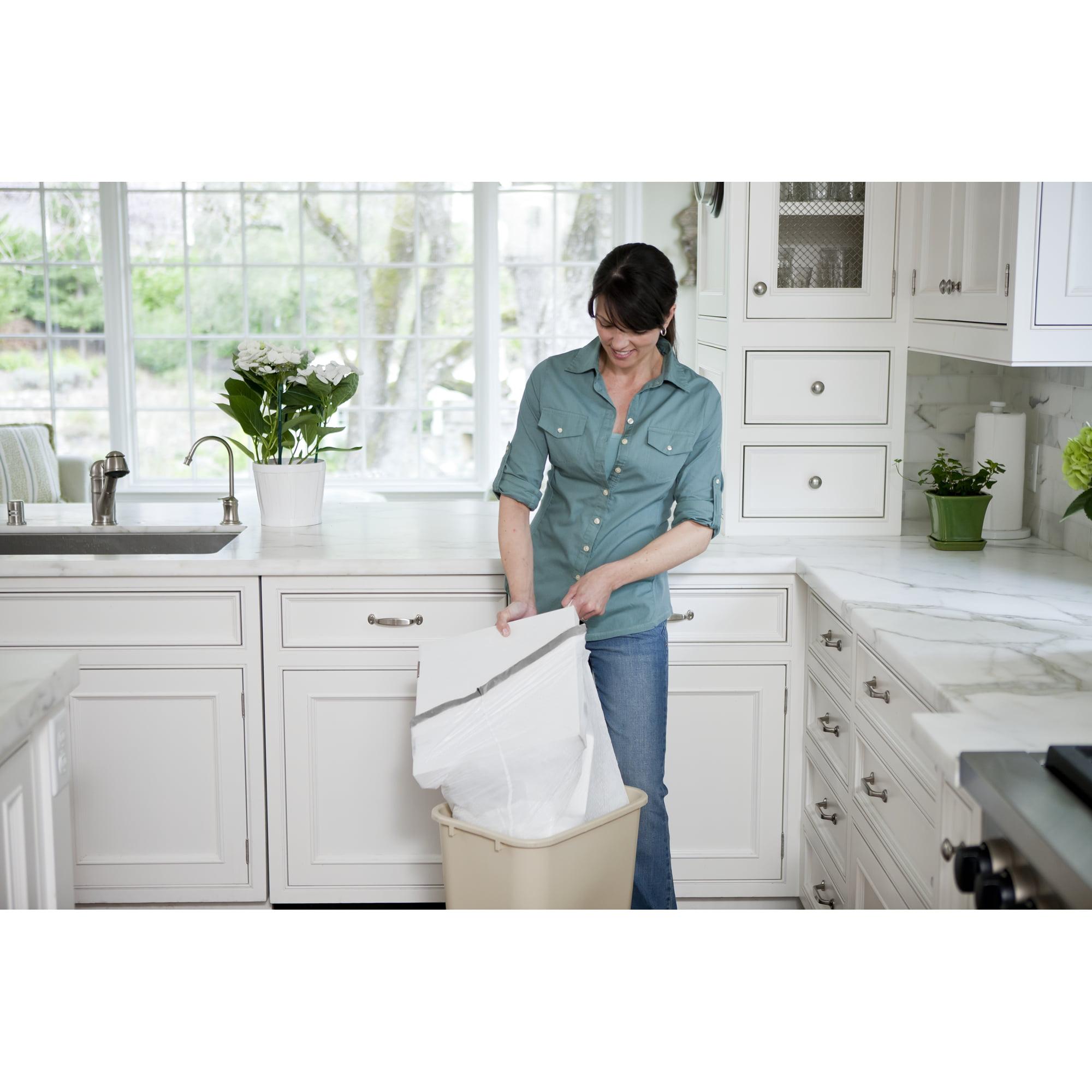 Glad Tall Kitchen Drawstring Trash Bags - 13 gal - 120 ct - Walmart.com