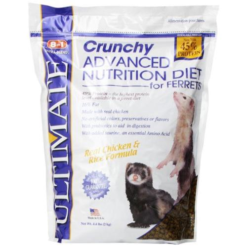 Ultimate Crunchy Advanced Nutrition Ferret Food, 4.4 lb.