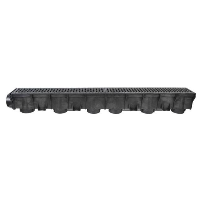B & K 0584CHBK Draintech Channel Grate Corrugated  49 x 5.5 x 5.6 in. - image 1 of 1