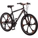 "Mongoose 26"" Mack Mag Wheel Mens Bike Black and Orange"