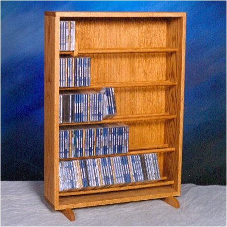 Wood Shed 500 Series 275 CD Dowel Multimedia Storage Rack