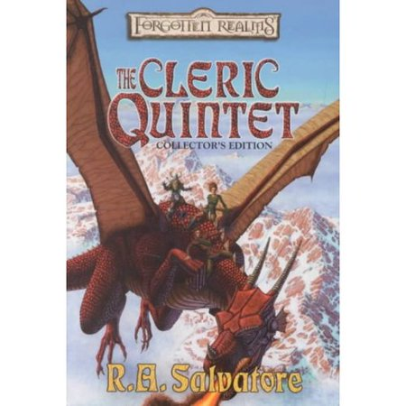 Forgotten Realms the Cleric Quintet: Canticle In Sylvan Shadows Night Masks The Fallen Fortress The Chaos... by