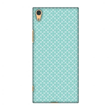 Pastel Checker - Sony Xperia XA1 Case, Premium Handcrafted Designer Hard Shell Snap On Case Printed Back Cover with Screen Cleaning Kit for Sony Xperia XA1, Slim, Protective - Checkered In Pastel