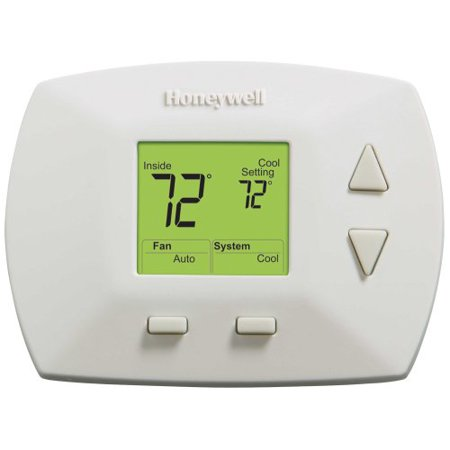 Honeywell rth5100b deluxe non programmable thermostat for Th 450 termostato