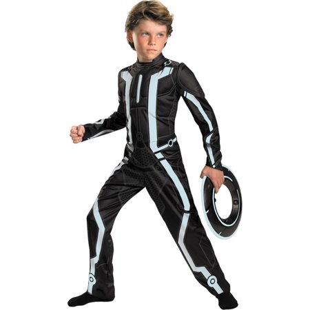 Morris costumes DG25903L Tron Legacy Dlx Child 4-6X](Tron Halloween)