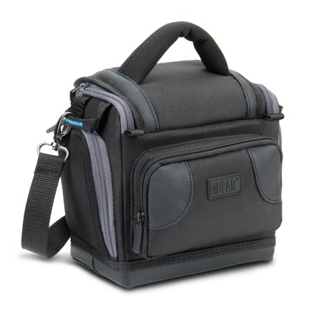 USA GEAR Action Video Camera Bag with Durable Protection and Carrying Strap - Compatible With GoPro HERO5 Black , HERO5 Session , HERO4 , HERO3+ and More Action Cameras and