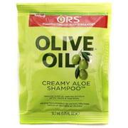Organic Root Stimulator Olive Oil Creamy Aloe Shampoo, 1.75 oz (Pack of 2)