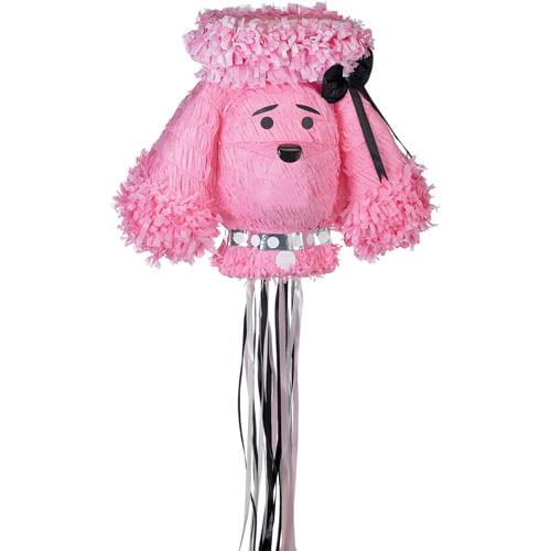 Pink Poodle Pinata