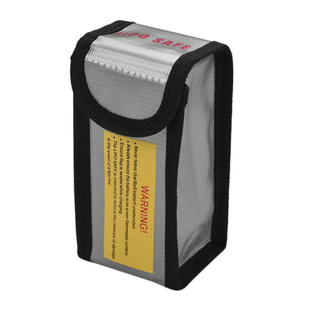 Explosion-proof Lipo Battery Safe Bag Firepoof Waterproof Protection Bag for Charge & Storage Small