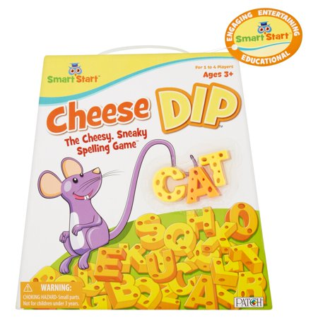 Patch Cheese Dip Smart Start The Cheesy, Sneaky Spelling Game Ages 3+
