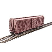Broadway Limited 2528 HO Painted, Unlettered PRR K7 Stock Car with Cattle Sound