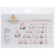 Peachy Keen Stamps Clear Face Assortment 32/pkg-chickie