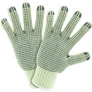 West Chester Glove Size Men's L Cotton/PolyesterKnit Gloves,708SKBS
