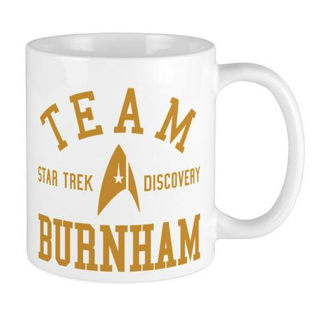 4f0b68474ce CafePress - Star Trek Team Burnham Mugs - Unique Coffee Mug