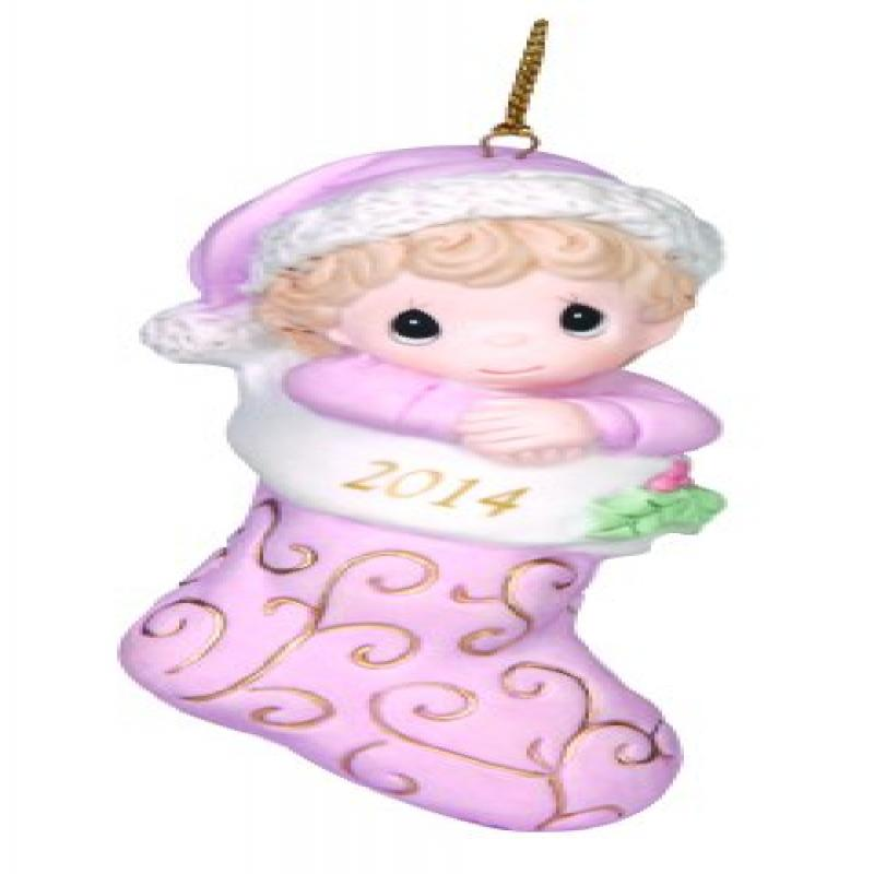 Precious Moments Company Dated 2014 Baby Girl Ornament