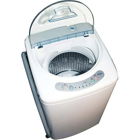 Haier 1 0 cubic foot portable washing machine hlp21n - Small space washing machines set ...
