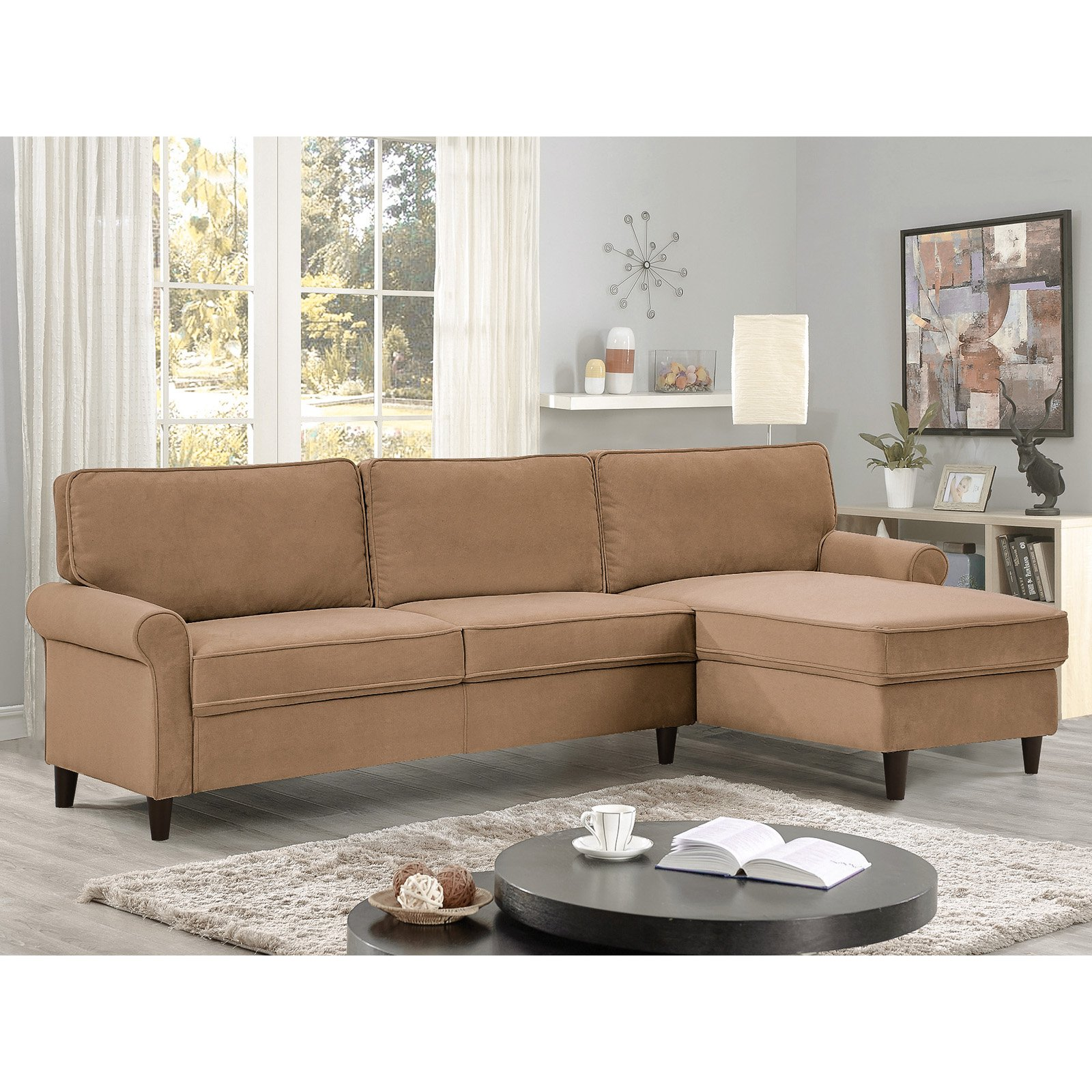 Lifestyle Solutions Madison Sectional Sofa