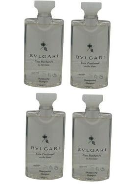 Bvlgari White Tea au the blanc Shampoo lot of 4 each 2.5oz Total of 10oz