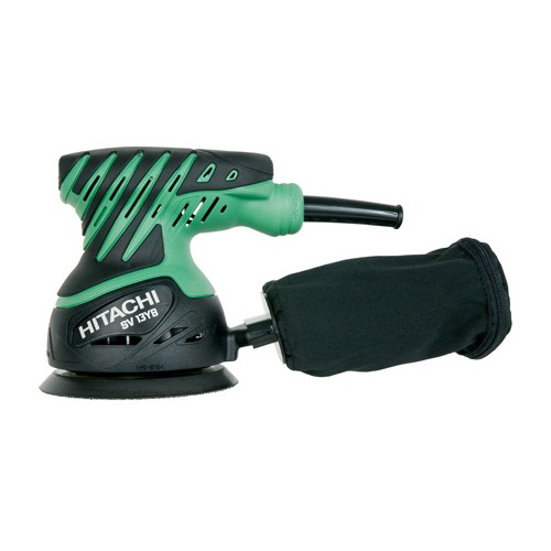 "Hitachi 5"" 2 Amp Random Orbit Sander With Cloth Dust Bag by Hitachi"