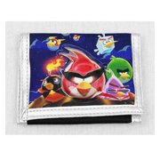 Trifold Wallet - Angry Birds - Space Black New Gift Toys Licensed an11751