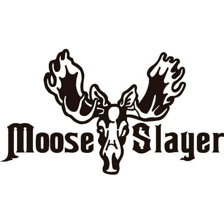 12 Haunting Halloween Decor Ideas (New Wall Ideas Moose Slayer Moose Head Image Animal Hunting Hunter Man Gun 6 X 12)