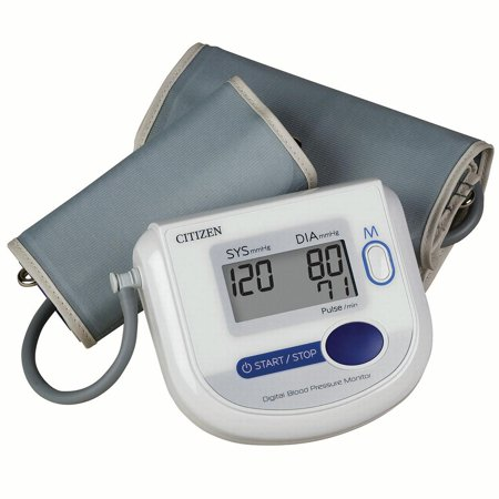 Automatic inflation blood pressure and pluse monitor, wide range