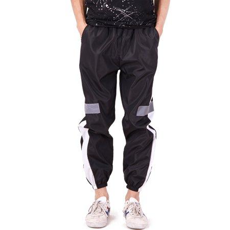 SAYFUT Men Fashion Color Block Patchwork Jogging Pant Sports Hip Hop Track Trousers Long Slacks Slim Fit Joggers Outwear