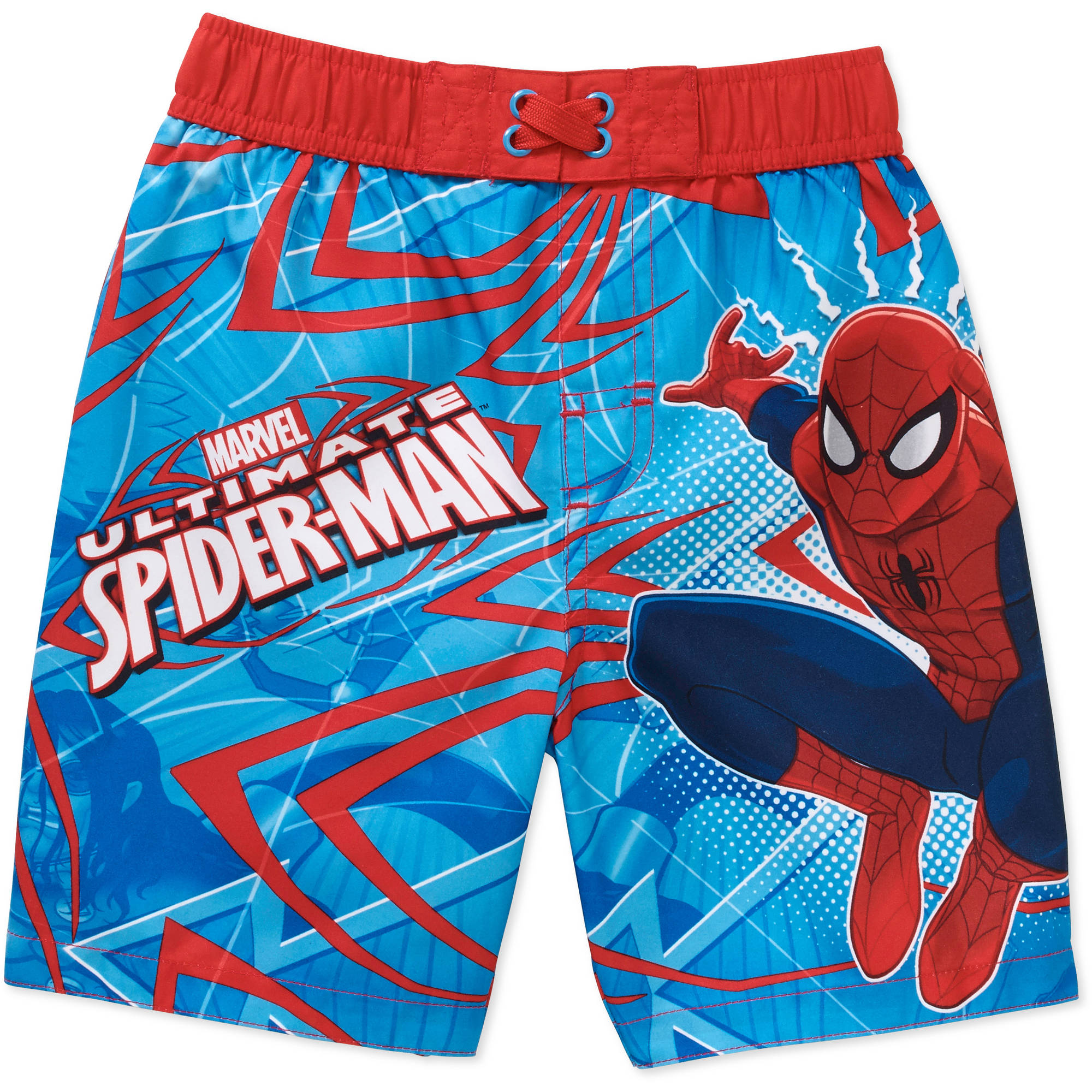 Spiderman Toddler Boy Swim Trunks