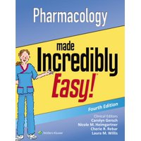 Incredibly Easy! Series(r): Pharmacology Made Incredibly Easy (Edition 4) (Paperback)