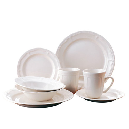 Thomson Pottery Bianca 16 Piece Dinnerware Set Service for 4  sc 1 st  Walmart & Thomson Pottery Bianca 16 Piece Dinnerware Set Service for 4 ...