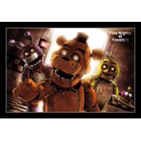 Five Nights At Freddys - Scare Poster Print