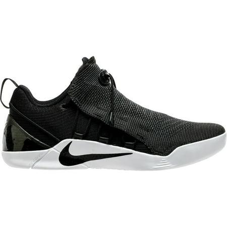 Nike Mens Kobe A D  Nxt  Black White Basketball Shoe