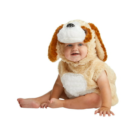 Cuddly Dog Infant Costume Newborn 0-9 Months - Newborn Costumes 0 3 Months